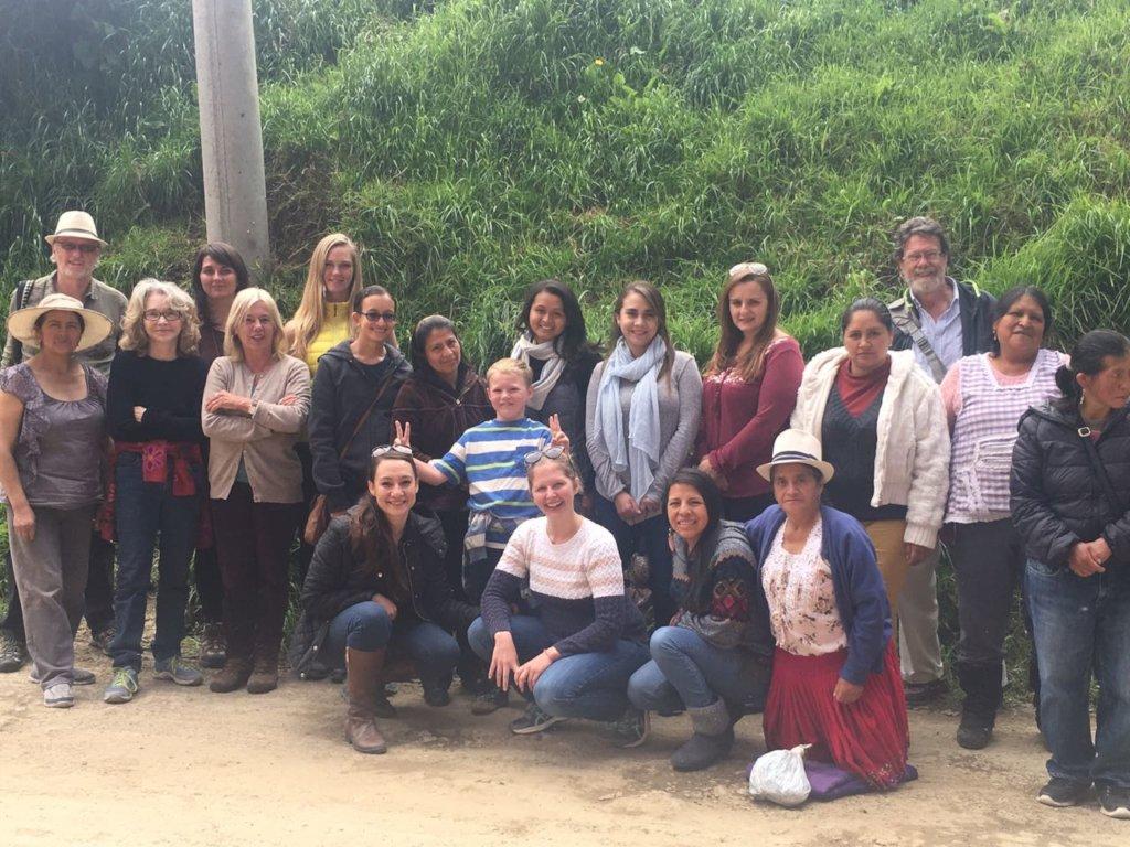 Cuenca Expats visit Kallpa Warmi