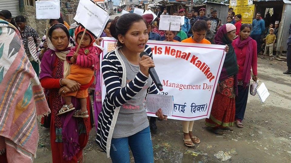 Singing about menstruation in Kalikot