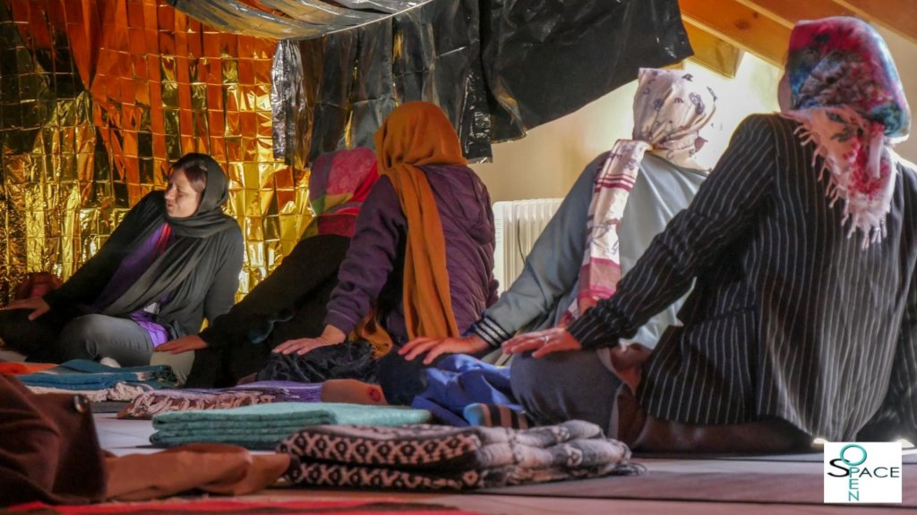 Self-Defense and Yoga for Refugee Women on Lesvos