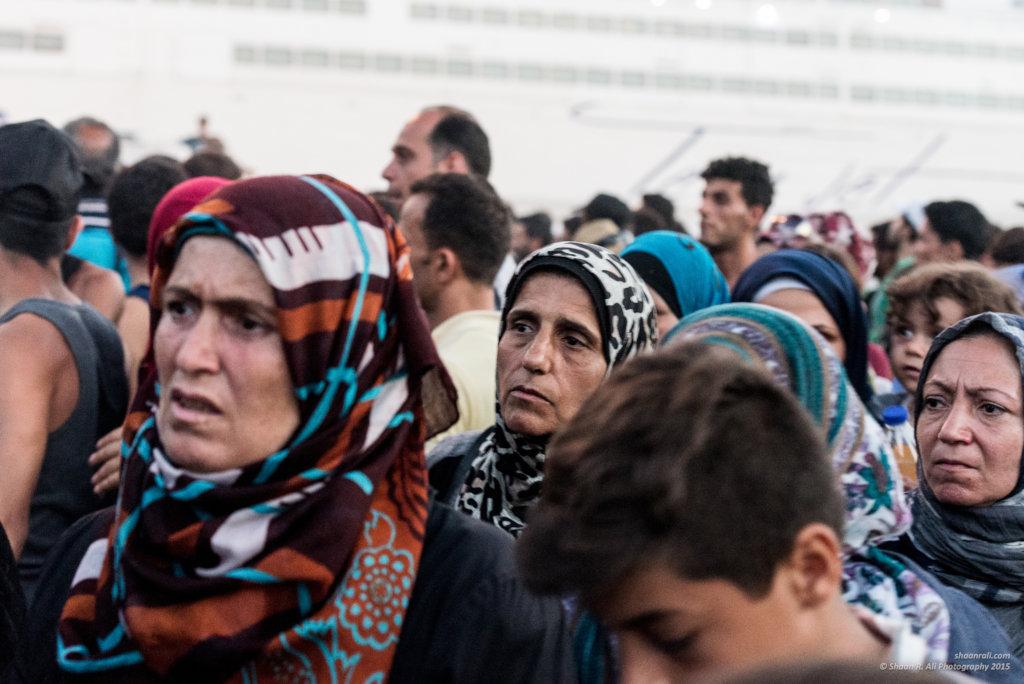 Self-defense Training for Refugee Women on Lesvos