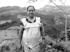 "Guillermina, Otomi leader of ""Flor del Bosque"""