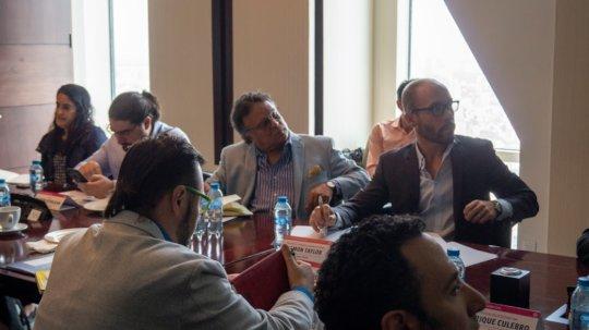 With global Ashoka, PODER & more @ Endeavor event