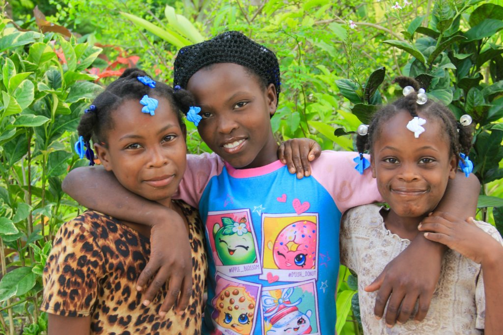 Ketly & her sisters are in school, thanks to you!