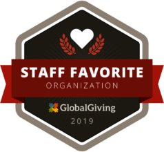 Global Giving once again named BB a staff favorite
