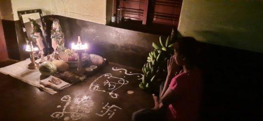 Celebrating Vishu