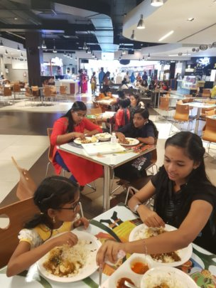 Lunch at Sobha Mall, Thrissur