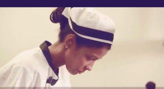 Chef in her kitchen!