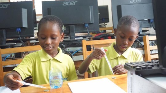 Support Students in Ghana create Solutions