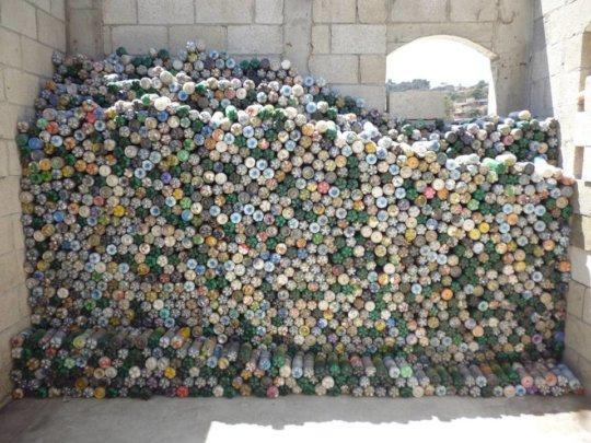 Over 5,000 eco-bricks