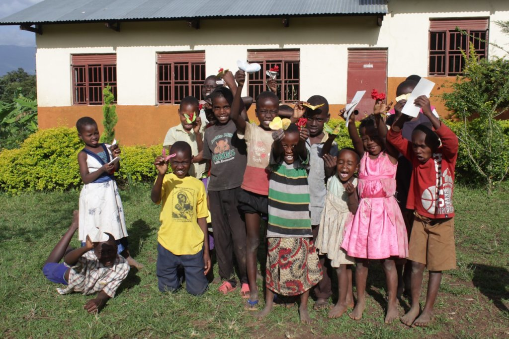 Feed 100 Children and Help them Plant their Garden