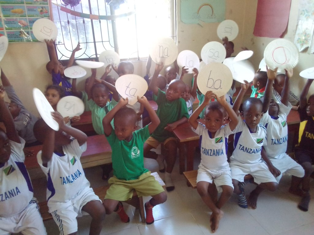 Give Education Materials To 80 School Children