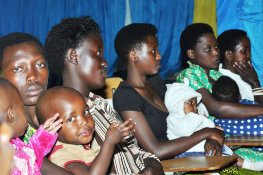 Provide 120 teen mothers with vocational skills