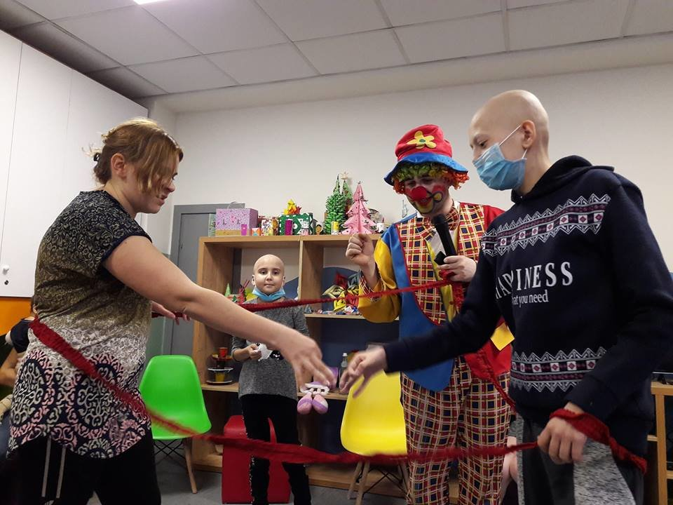 The Clown Care Project for Children with Leukemia