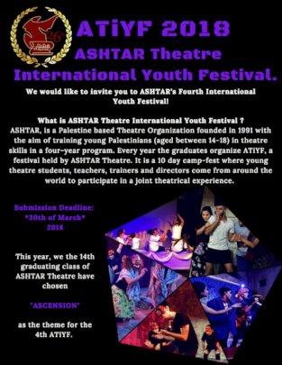 ASHTAR Theatre International Youth Festival