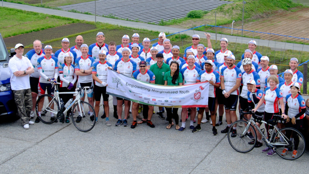 KIWL Charity Ride for Marginalized Youth in Japan
