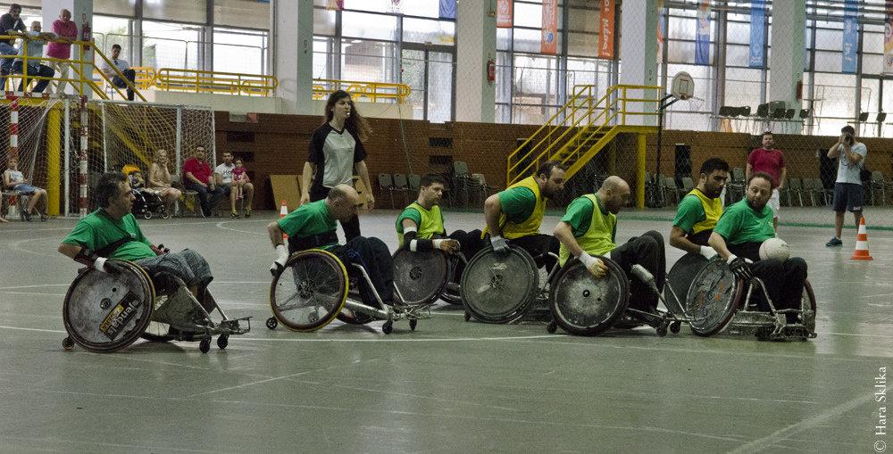 Help Greeks Play Wheelchair Rugby