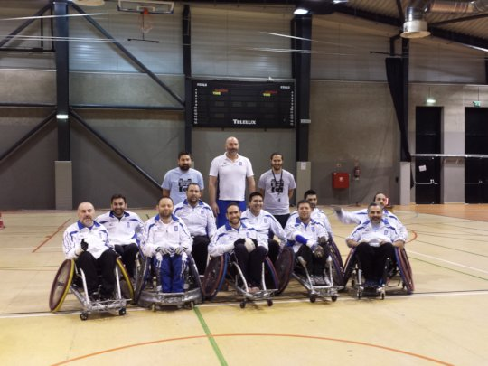 Help Greeks Play Wheelchair Rugby