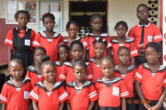 Support 25 Rural Children Education in Liberia
