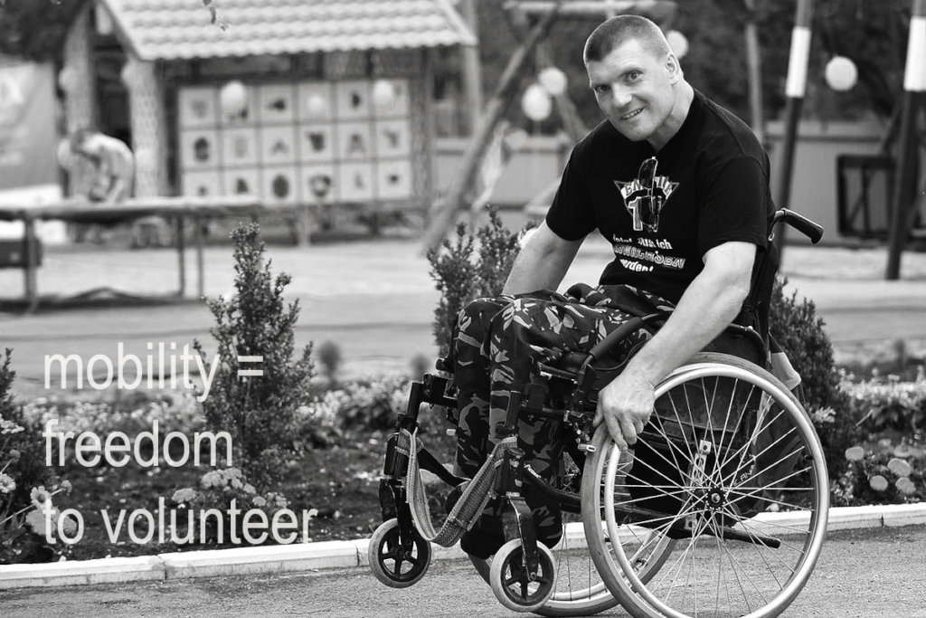 mobility = freedom to volunteer