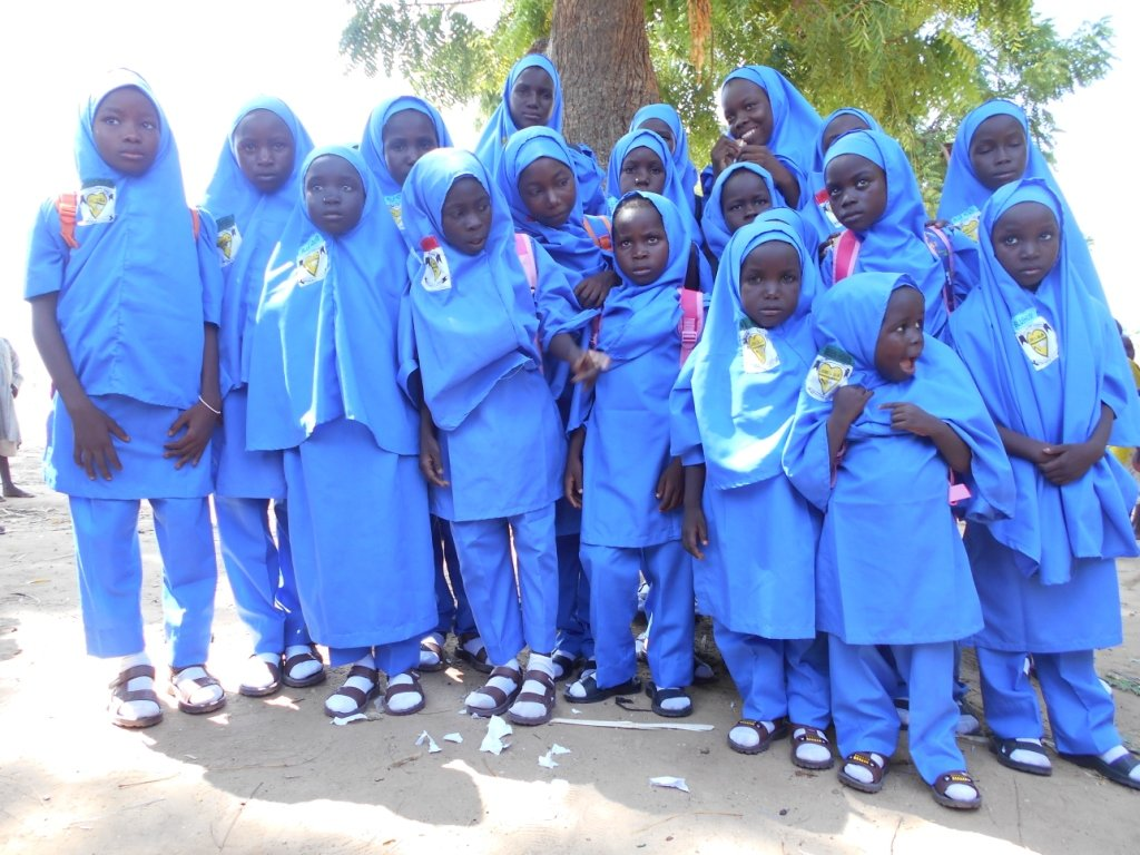 No glamour- Basic Toilets in North East Nigeria