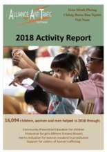 Alliance Anti Trafic Vietnam 2018 activity report (PDF)