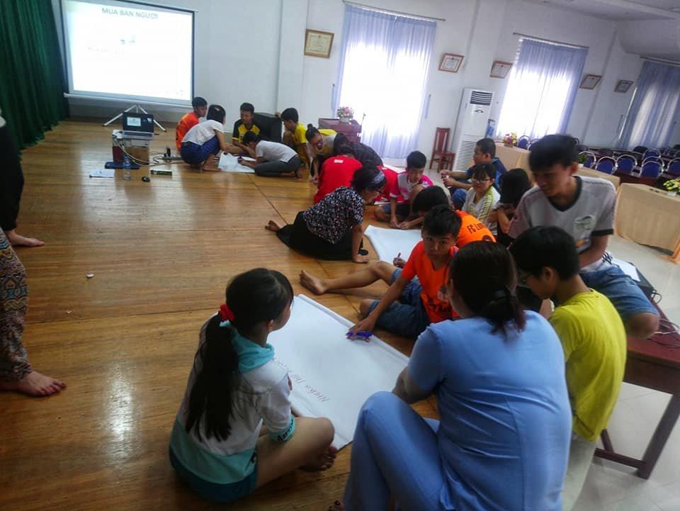 Children, Vung Tau Orphan Center