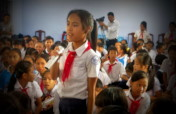 Educate 3000 children against human trafficking