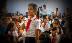 Educate 3000 children against human trafficking