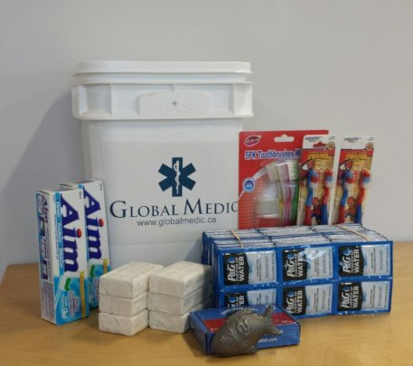 An example of a Family Emergency Kit