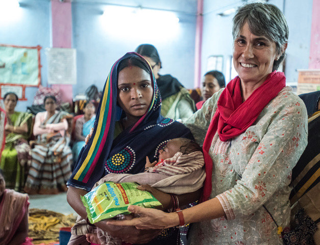 Health & Nutrition for Mothers & Children in India