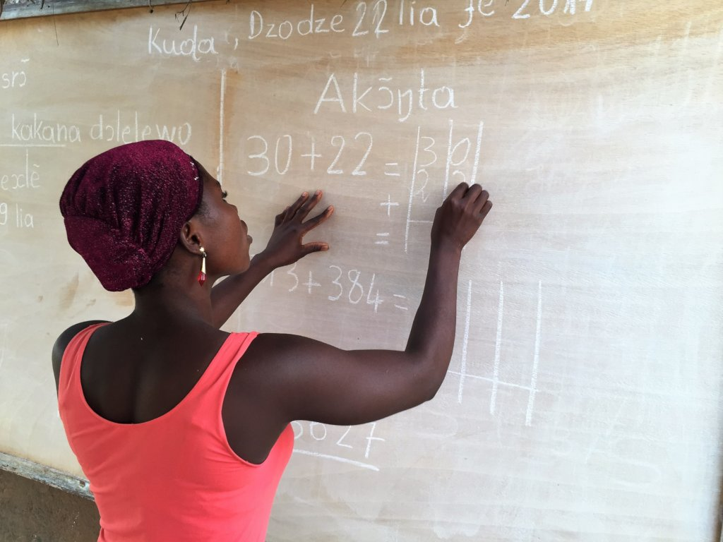 Help 50 women in Togo learn to read and write