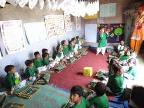Girl children education centre