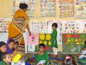 education and food for 350 rural girls in India