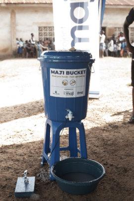 Maji Bucket in action