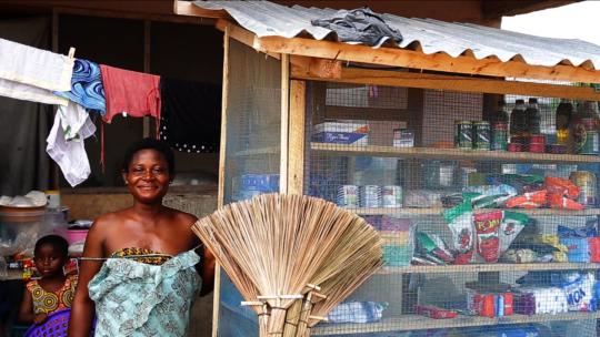 Many women of Otuaplem have now set up businesses.
