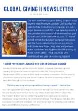 Project Maji Newsletter (PDF)