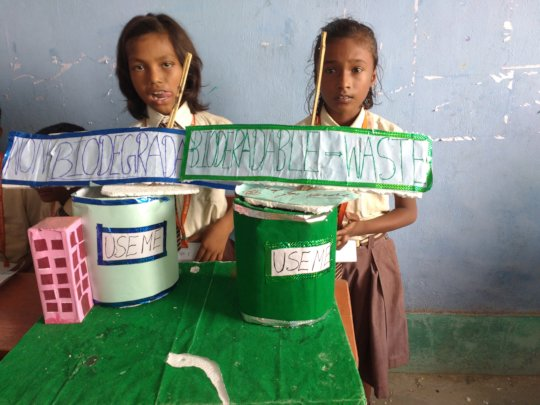 Build Science Lab for 500+ kids in village school