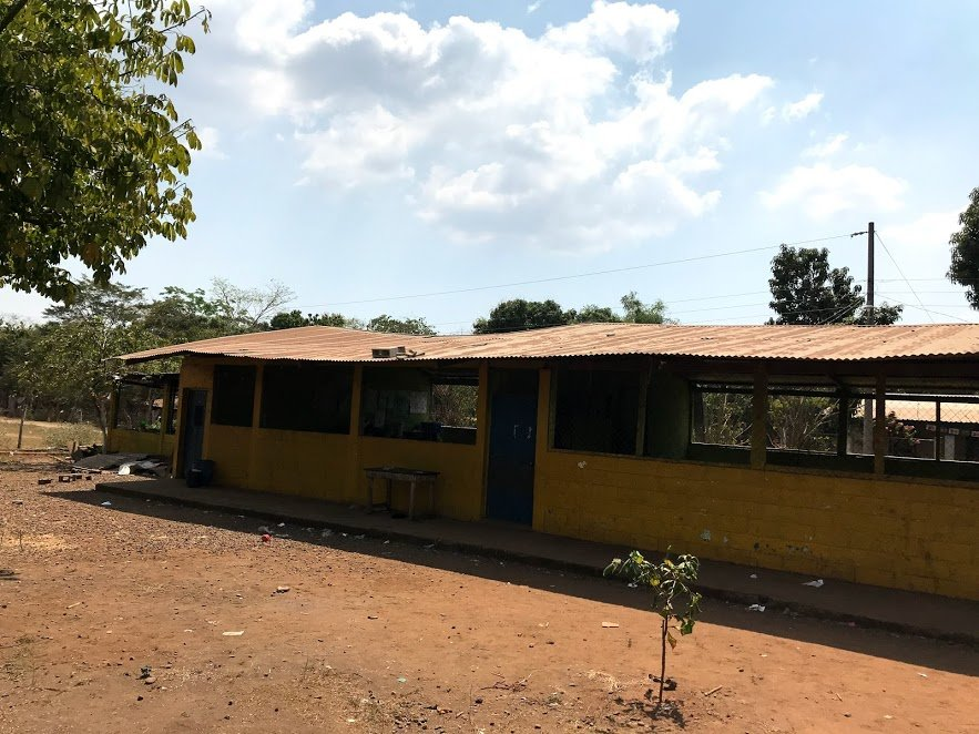 New roof for 150 scholars in Covadonga Guatemala