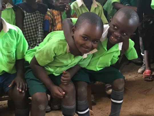 Support 40 orphans and make school improvements