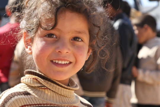 Give Syrian Children Hope for The Future