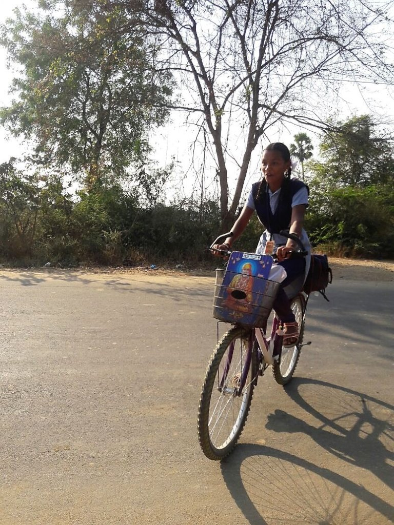 Tharuni Swecha: Cycle to School Campaign for Girls