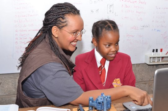 3D Printed Microscopes for STEM Teaching in Kenya