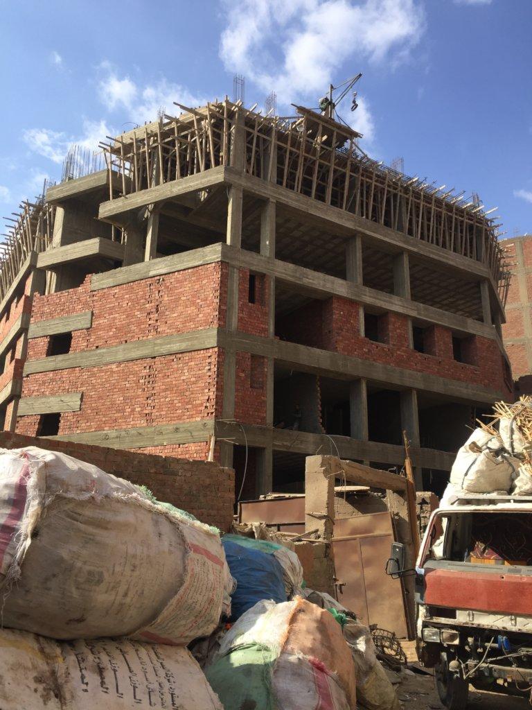 Building a Community School in Slum Areas in Egypt