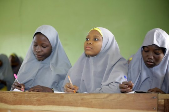Leadership Academy for 1000 young women in Nigeria
