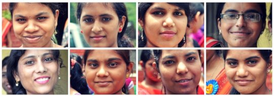 The faces of Barli students