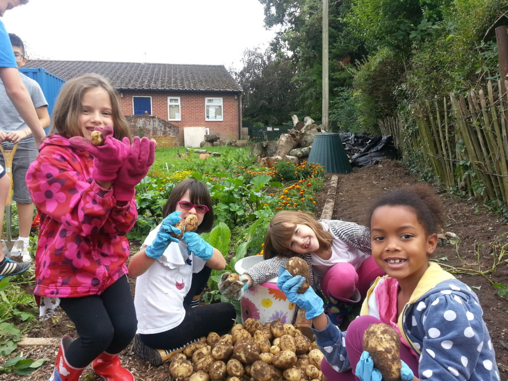 Grow&Cook classes for 50 disadvantaged Hants kids