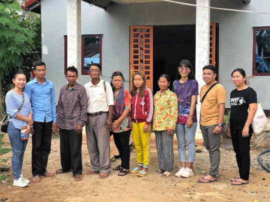 CWEF team with new partners in Tboung Khmum