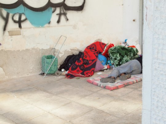 Mapping services supporting Drug Users in Athens