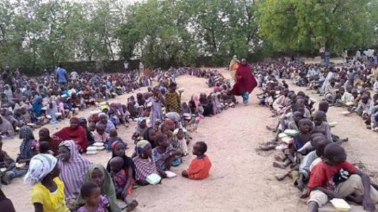 EDUCATE AND SHELTER 150 TERROR VICTIMS IN NIGERIA
