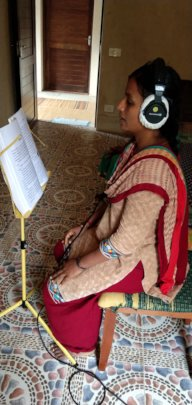 Active Phase - Perfect listening posture!